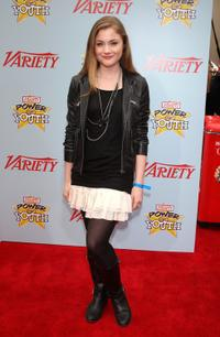 Skyler Samuels at the Variety's 3rd Annual Power of Youth Event.