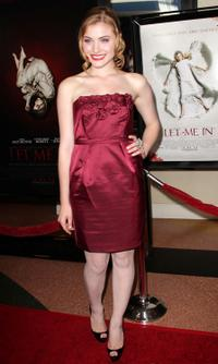 Skyler Samuels at the premiere of