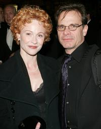 Peter Scolari and Tracy Shayne at the special gala for the 7,486th performance of
