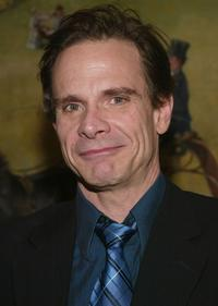 Peter Scolari at the Broadway opening of