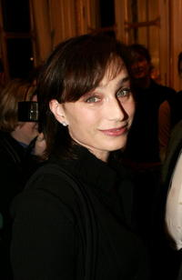 Kristin Scott Thomas at the Ministry of Culture in Paris, France.