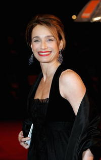 Kristin Scott Thomas at The Orange British Academy Film Awards  in London, England.