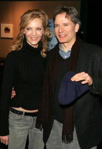 Joan Allen and Campbell Scott at the premiere of