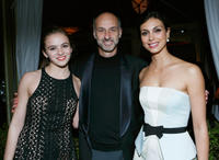Morgan Saylor, David Marciano and Morena Baccarin at the Entertainment Weekly Pre-SAG Party in California.