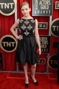 Morgan Saylor at the 19th Annual Screen Actors Guild Awards.