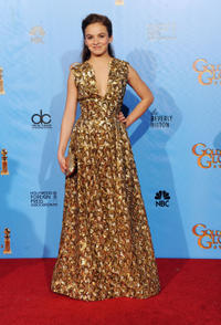 Morgan Saylor at the 70th Golden Globe Awards Party.