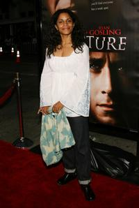 Judith Scott at the premiere of