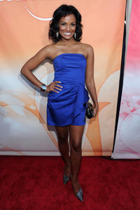 Mekia Cox at the 2010 TCA Summer party in California.