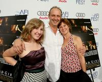 Chloe, Nick Searcy and Leslie Riley at the world premiere of