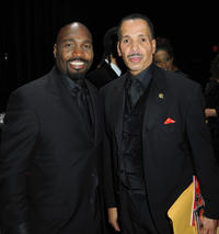 James Black and Jarvee Hutcherson at the 16th Annual Diversity Awards in California.