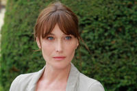 Carla Bruni-Sarkozy as Museum Guide in