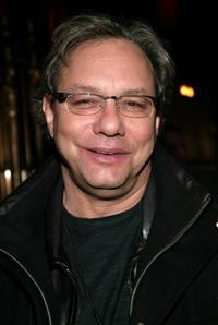 Lewis Black at the Comedy Central Bar Mitzvah Bash afterparty.