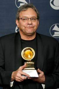 Lewis Black at the 49th Annual Grammy Awards.