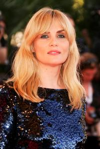 Emmanuelle Seigner at the premiere of