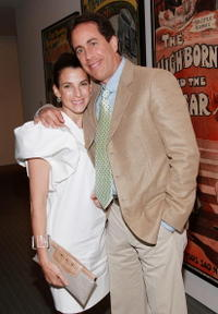 Jerry Seinfeld and wife Jessica at a special screening of