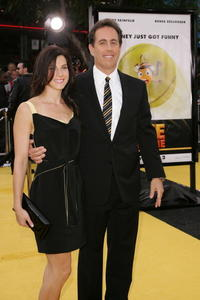 Jerry Seinfeld and wife Jessica at the L.A. premiere of
