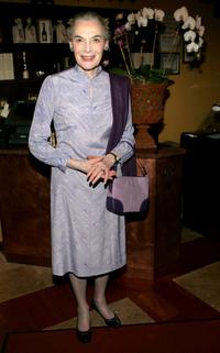 Marian Seldes at the after party of the opening of