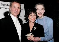 Jim Dale, Chita Rivera and Marian Seldes at the New Dramatists 57th Annual Benefit Luncheon.