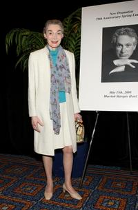 Marian Seldes at the 59th Annual New Dramatists Spring Luncheon honoring Harvey Fierstein.