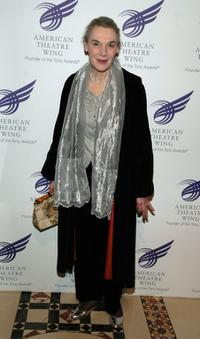 Marian Seldes at the American Theatre Wing Annual Spring Gala.