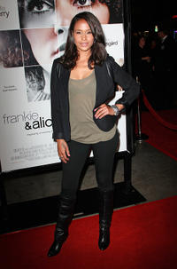 Shannon Kane at the California premiere of