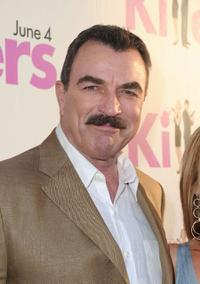 Tom Selleck at the California premiere of