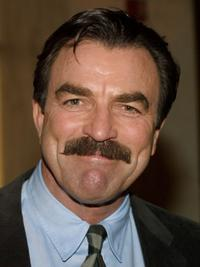 Tom Selleck at the Screen Smart Set Auxiliary of the Motion Picture & Television Fund 34th Annual Celebrity Fashion Show and Auction.