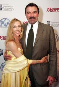 Jillie Mack and Tom Selleck at the Producers Guild Of America Presents 2006 Celebration of Diversity.