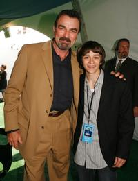Tom Selleck and Daniel Hensen at the after party of the premiere of