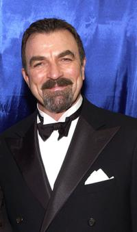 Tom Selleck at the Distinctive Assets Gift Lounge during the People's Choice Awards.