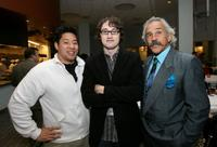 Jayson Watabe, director/screenwriter David Boyle and Pepe Serna at the world premiere of
