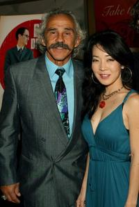Pepe Serna and Rachel Morihiro at the world premiere of