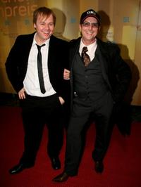 Dustin Semmelrogge and Martin Semmelrogge at the Bavarian Film Awards.