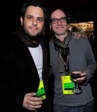 Kevin Asch and Brad Barnes at the Press and Filmmakers Reception during the 2010 Sundance Film Festival.