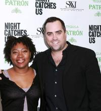 Tanya Hamilton and Sean Costello at the premiere of