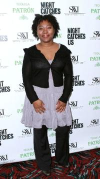 Tanya Hamilton at the premiere of