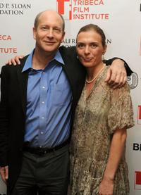 Doron Weber and Diane Bell at the Union Square Ballroom during the 2010 Tribeca Film Festival.
