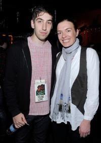 Director Ariel Kleiman and Diane Bell at the Press and Filmmakers Reception during the 2010 Sundance Film Festival.