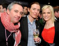 Producer Chris Byrne, Diane Bell and Lyn Mckeaney at the Opening Night party during the 2010 Sundance Film Festival.