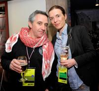 Producer Chris Byrne and Diane Bell at the Opening Night party during the 2010 Sundance Film Festival.