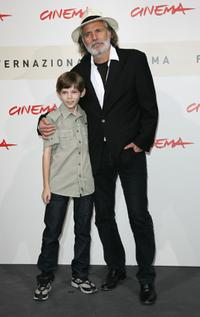 Robbie Kay and Rade Serbedzija at the photocall of