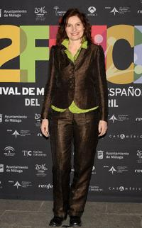 Assumpta Serna at the 12th Malaga Film Festival presentation party.