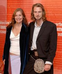 Assumpta Serna and husband Scott Cleverdon at the 53rd San Sebastian International Film Festival.