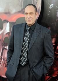 Nestor Serrano at the premiere of