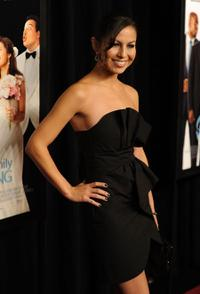 Anjelah Johnson at the premiere of