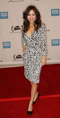 Anjelah Johnson at the Ninth Annual Golden Trailer Awards.