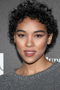 Alexandra Shipp at the 2017 Roc Nation Pre-Grammy Brunch in Los Angeles.