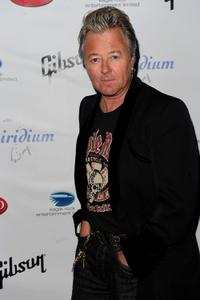 Brian Setzer at the after party of Les Paul's 95th Birthday with Special Intimate Performance.