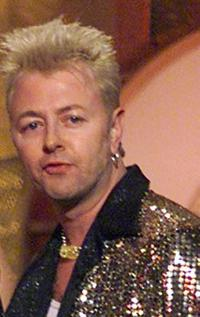 Brian Setzer at the 41st Annual Grammy Awards.