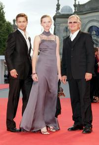 Maciej Zakoscielny, Agata Buzek and Andrzej Seweryn at the premiere of